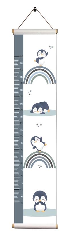 Groeimeter - Pinguins en regenboog