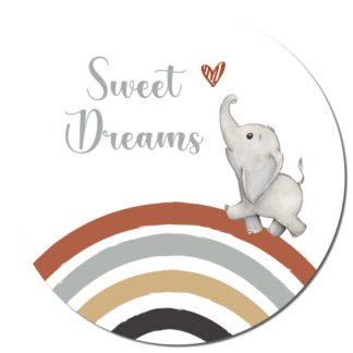 Wandcirkel/Wandsticker Sweet Dreams