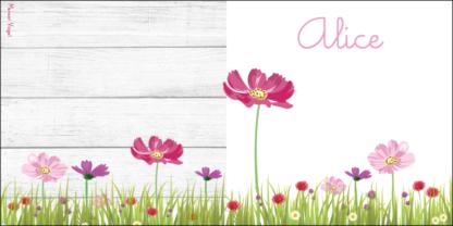 Meneer Vogel - bloemen - Alice