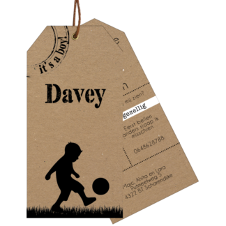 Meneer Vogel - Labels - Davey