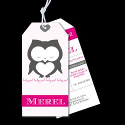 Meneer Vogel - Labels - Merel