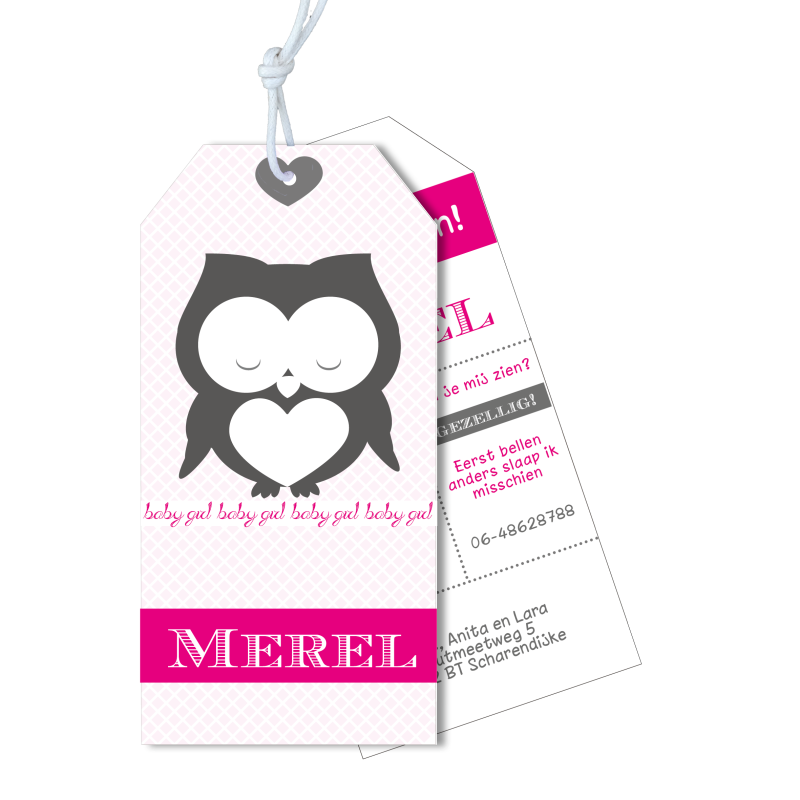 Meneer Vogel - Labels - Merel