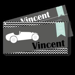 Meneer Vogel - labels - Vincent