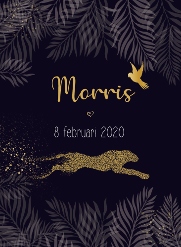 tentkaartje Morris Jungle goud