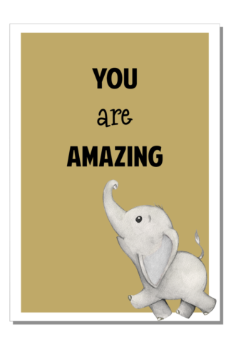 Kinderkamer poster You are Amazing