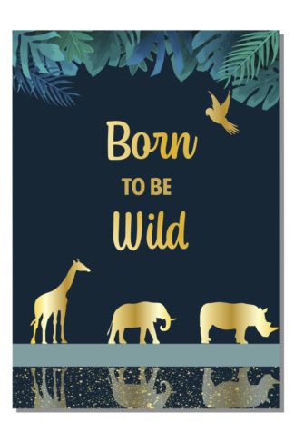Kinderkamerposter Born to be wild