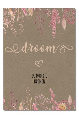 Kinderkamerposter Droom de mooiste dromen