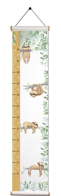 Groeimeter - Luiaardjes in jungle.